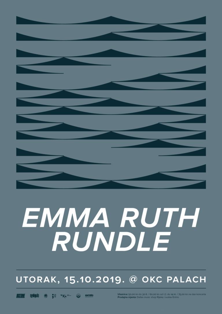 Emma Ruth Rundle_Distune vam predstavlja_Poster Design By_Radnja