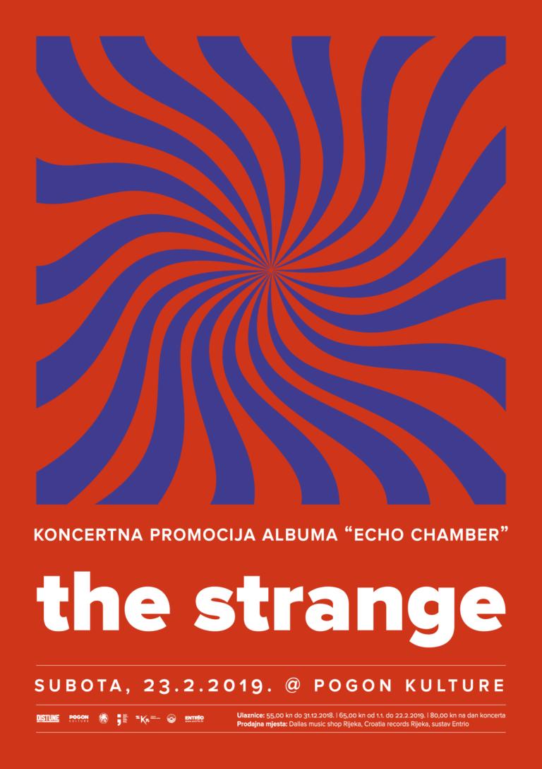The Strange_Distune vam predstavlja_Poster Design By_Radnja