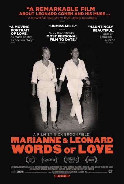''Marianne & Leonard: Words of Love:''_Impulse Festival #7_Poster design By_official cinema movie poster