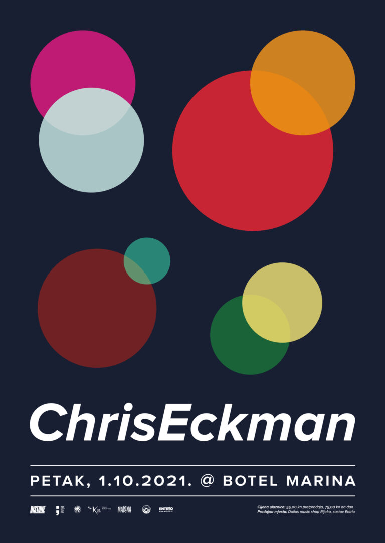 Chris Eckman_Distune vam predstavlja_Poster Design By_Radnja